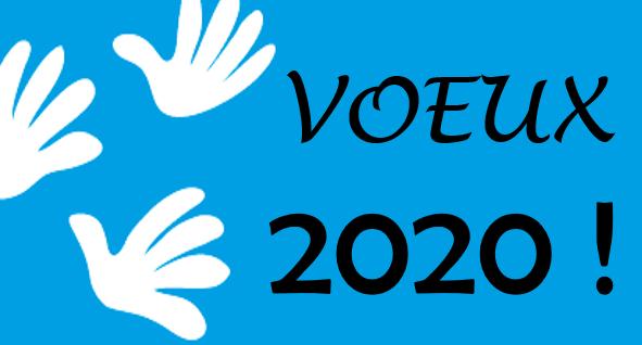 Nos meilleurs vœux 2020 !